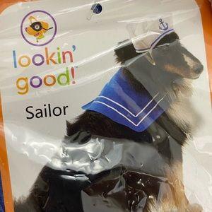 Sailor Costume for Dog Size ML Navy Fleet Week!